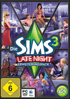 Die Sims 3 Late Night Cover